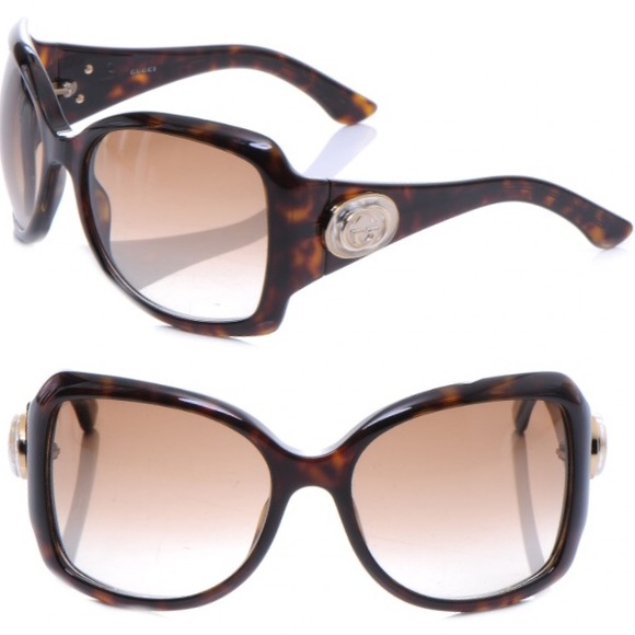 bd1208a96a9 Gucci Accessories - Gucci Oversized Tortoise Shell Sunglasses